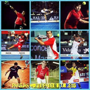 Parejas masculinas World Padel Tour 2015