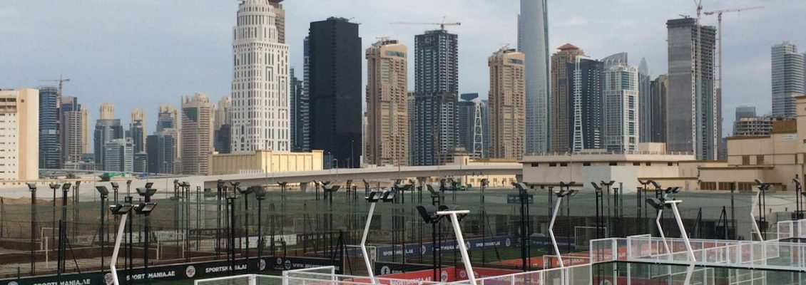 Padel Court in Dubai by Manzasport