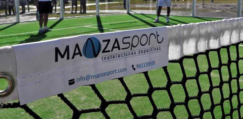 ManzaSport fabricantes de pistas de padel