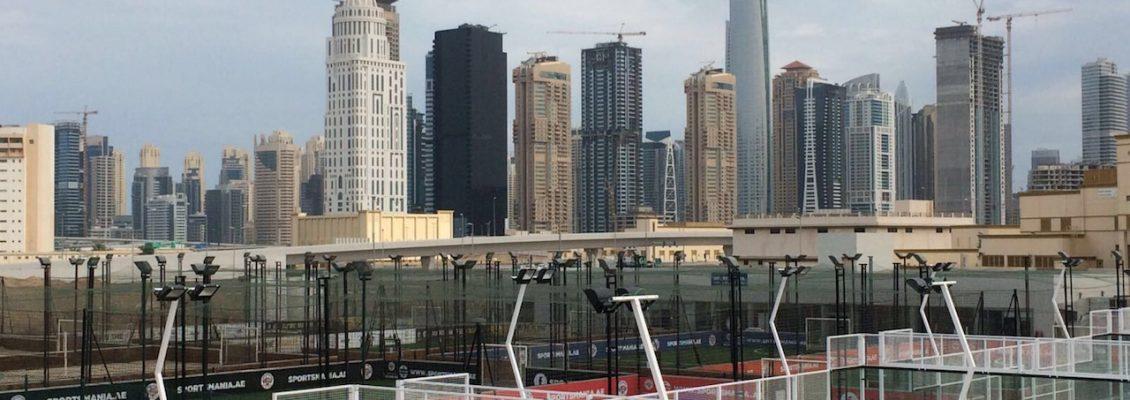 Padel Court in Dubai by Manzasport