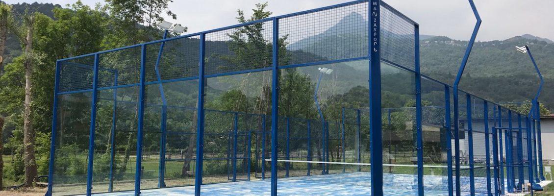 Manzasport, manufactureras of padel courts.